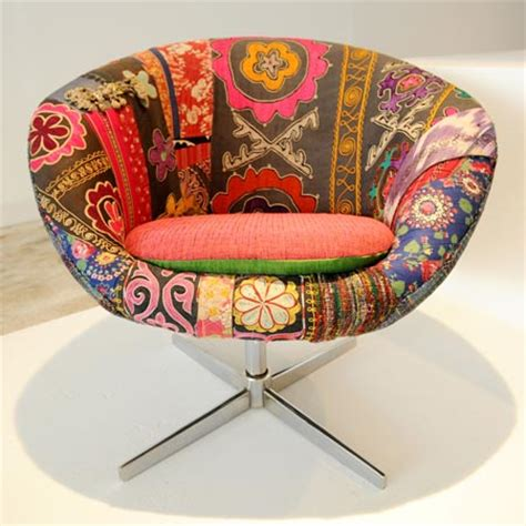 Chair Fabric Designs by Bokja Chair In Vintage Middle Eastern Fabrics For Al Sabah