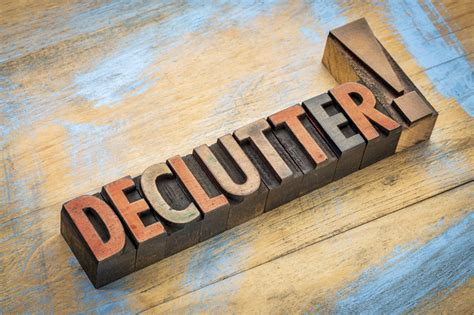 decluttered meaning september healthy year challenge the declutter challenge