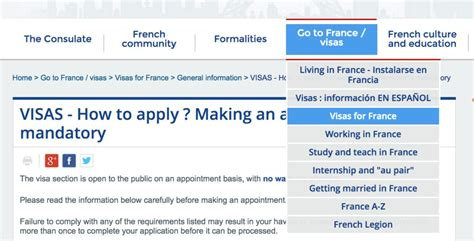 french embassy visa section france visa for u s permanent residents easy guide