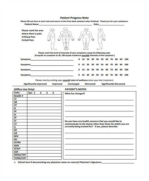 patient progress notes template word progress notes templates targer golden co