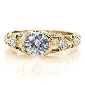 vintage antique engagement rings in indianapolis