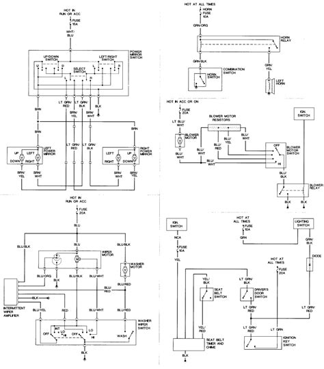 86 nissan wiring diagram get free image about