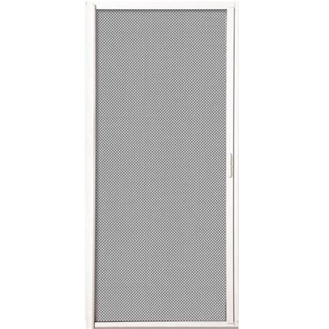 andersen sliding screen door 36 x 80 andersen 36 in x 80 in luminaire white retractable