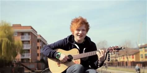 ed on a boat oh hello ed sheeran on boat with a guitar