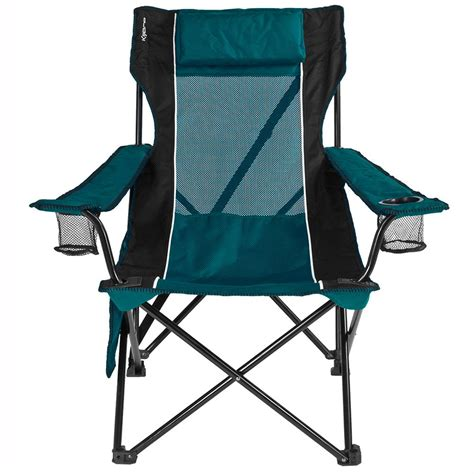 Teal Folding Chair by Teal Sling Chair Kijaro 80177 Folding Chairs Cing