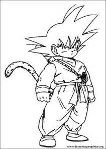 dragon ball desenhos imprimir colorir pintar goku goham vegeta os saiyajin