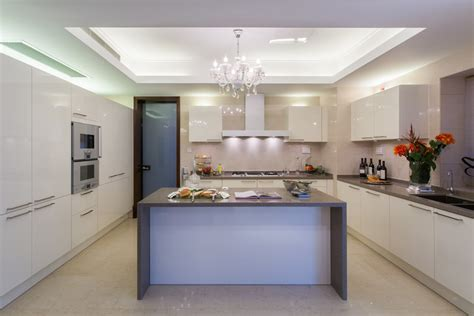 white and grey modern kitchen 35 beautiful white kitchen designs with pictures