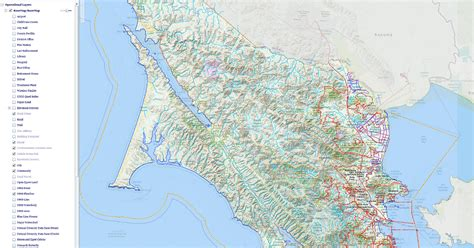 california map gis gis map information for marin county resource guides