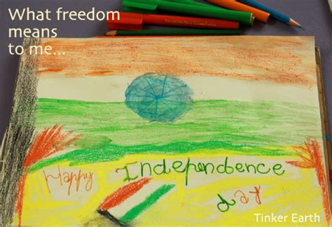 drawing themes for independence day india flag painting tinker earth