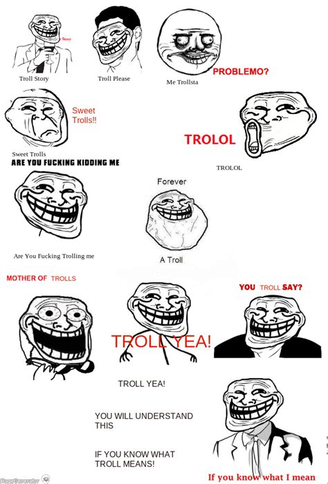Troll Faces Meme - trollface meme images reverse search