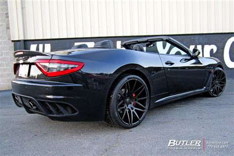 maserati forgiato maserati granturismo with 22in forgiato maglia ecl wheels