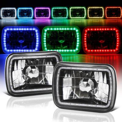 1986 jeep comanche black jeep comanche 1986 1992 black color smd led sealed beam