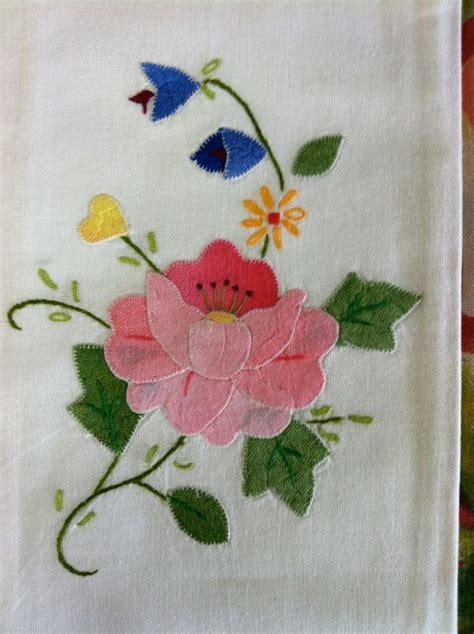 Handmade Tea Towels - pair of vintage handmade tea towels or linens by