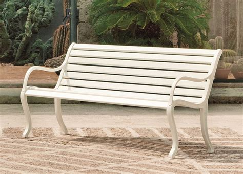 contemporary garden bench oasi garden bench modern garden furniture garden seating