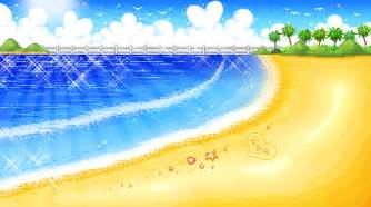 beach pixel scenes cute kawaii resources