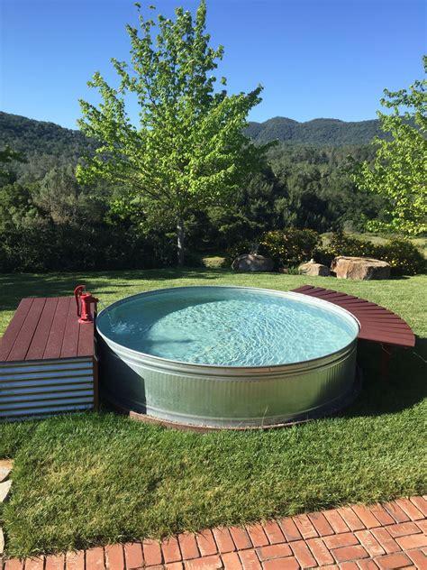 stock tank pool 10x2 galvanized stock tank pool stock tank pool