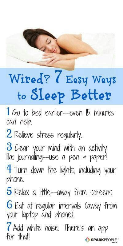 what helps sleep better 7 ways to sleep better helpful hints