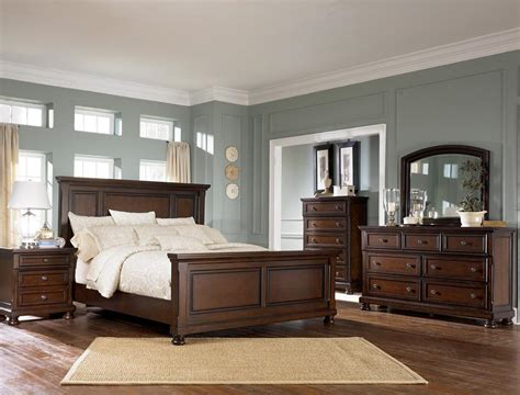 ashley porter panel bedroom set ashley b697 54 57 96 31 36 porter bedroom collection