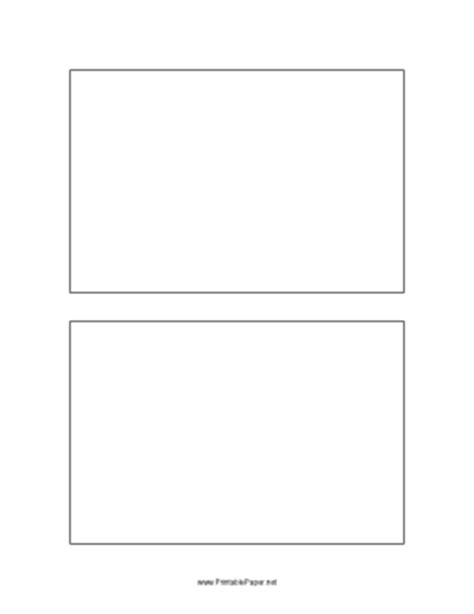 blank 4x6 index card template printable postcard template 4x6 inches