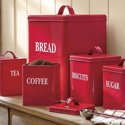 red canisters kitchen decor best 25 red country kitchens ideas on pinterest country