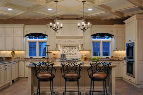 elegant kitchen designs elegant long island kitchen design for a large scale room