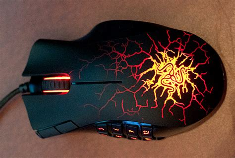 Mouse Razer Naga Molten razer naga molten special edition could be the ultimate gaming mouse pics technology news