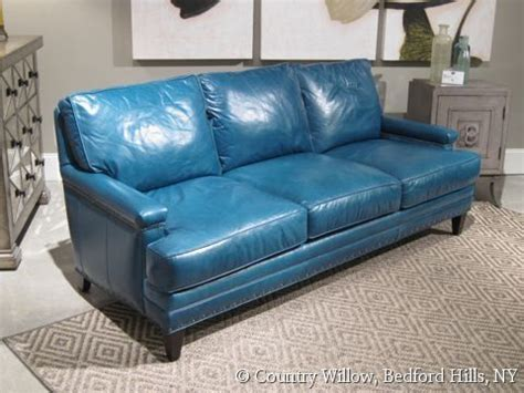 blue leather sofa bed 25 best ideas about blue leather sofa on blue