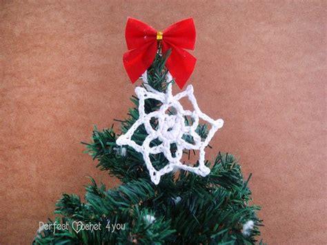 christmas tree snowflake patterns easy crochet snowflake pattern crochet hanging tree ornament vintage pattern home