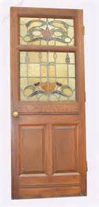 Antique Stained Glass Door Antiques Atlas Edwardian Stained Glass Door
