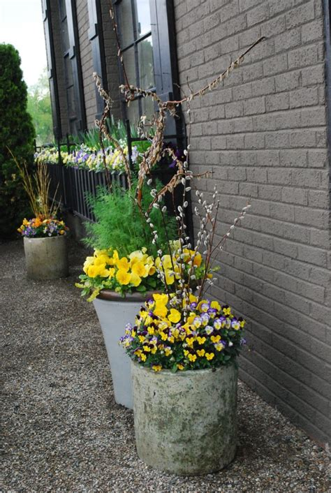 cheap containers for gardening flower container gardening ideas