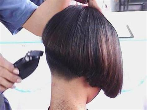 buzzed wedge haircut hairxstatic short back bobbed gallery 2 of 6 the