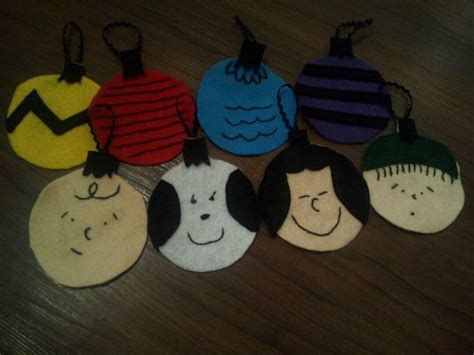 printable charlie brown ornaments 37 best images about all things felt on pinterest