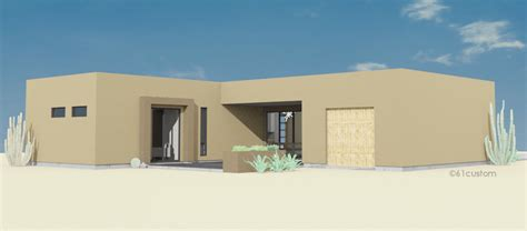 adobe homes plans contemporary adobe house plan 61custom contemporary