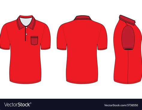 Polo Shirt Design Templates Royalty Free Vector Image Polo Shirt Design Template