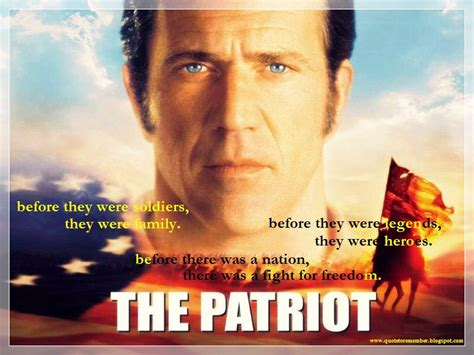 film quotes from the 2000s the patriot movie quotes quotesgram