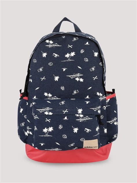 Back Pack Adidas Neo buy adidas neo daily backpack with print detailing for