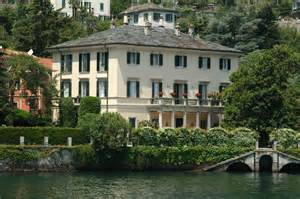 george clooney home george clooney lake como house