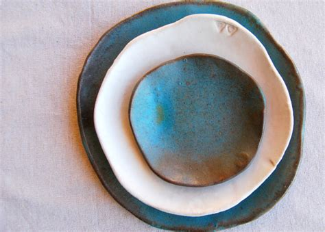 Handcrafted Plates - unavailable listing on etsy