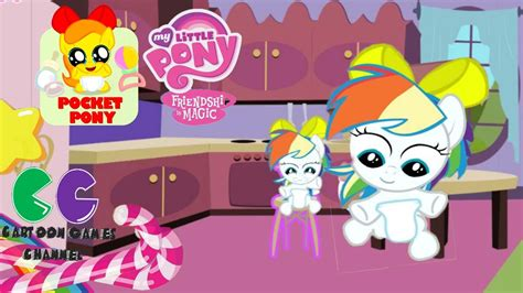 games haircut my little pony pocket pony rainbow dash hairstyle my little pony caring
