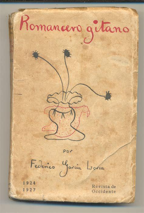 libro primer romancero gitano 1924 1927 garc 237 a lorca federico primer romancero gitano 1924 1927 primera edicion ebay
