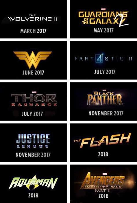 marvel film upcoming upcoming marvel and dc movies part 2 marvel movies