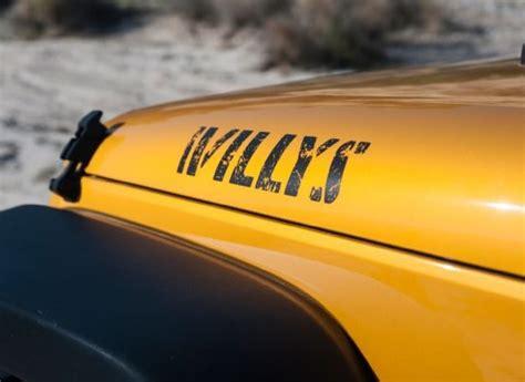 Jeep Willys Decal Jeep Wrangler Vs Toyota Fj Cruiser Mopar