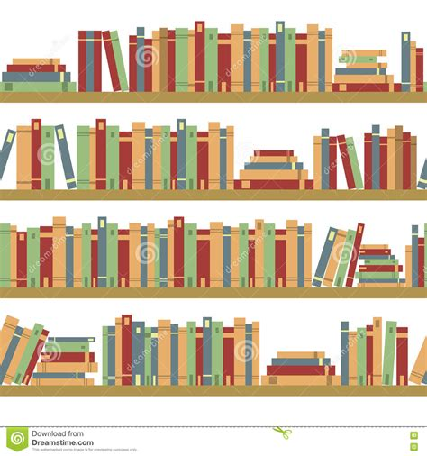 seamless books seamless pattern with books library