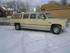 6 Door Suburban by 1986 Chevrolet Suburban 6 Door For Sale Photos Technical
