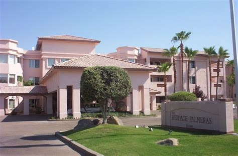 the heritage palmeras sun city retirement living community