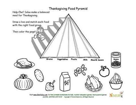 holidays 11 kids food pyramid and thanksgiving food