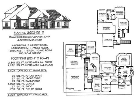 4 bedroom floor plans 2 story 4 bedroom 2 story house floor plans vdara two bedroom loft 2 bedroom 1 story house plans