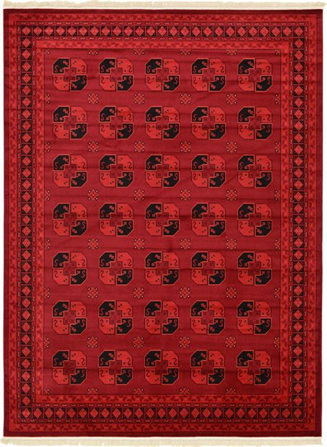 Traditional Red Rug New Area Rug Oriental Persian Classic New Rugs