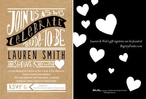 Wedding Paper Divas Shower Invitations by New Wedding Registry Guide From Wedding Paper Divas