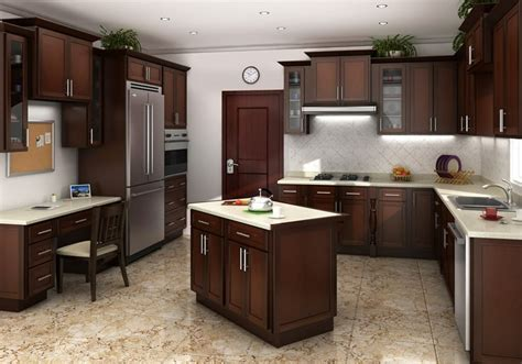 cognac shaker kitchen cabinets rta kitchen cabinets